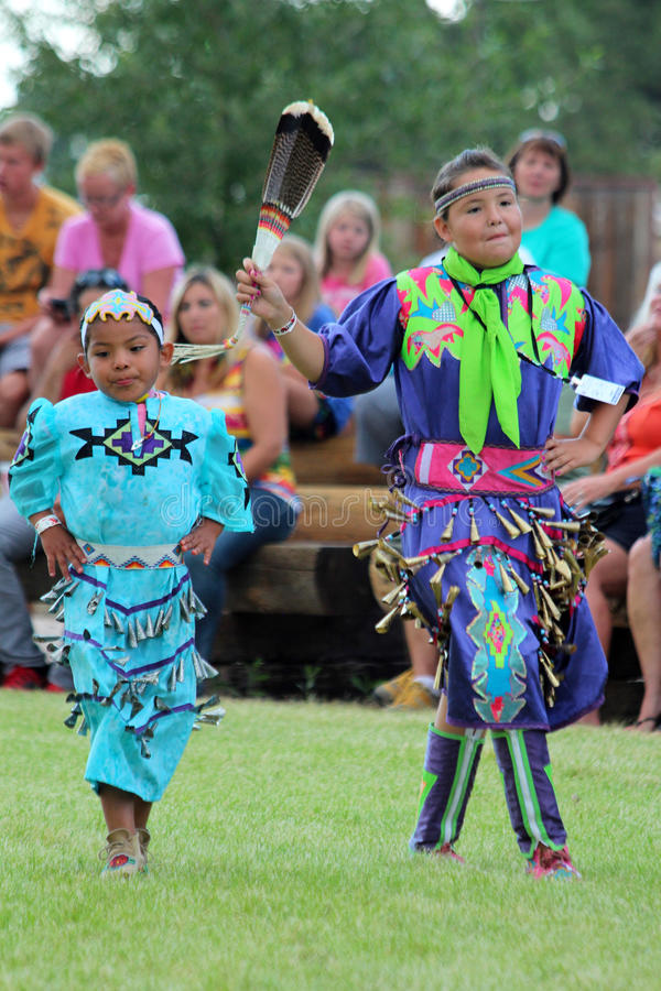 Jingle Dance - Powwow 2013 stock photo