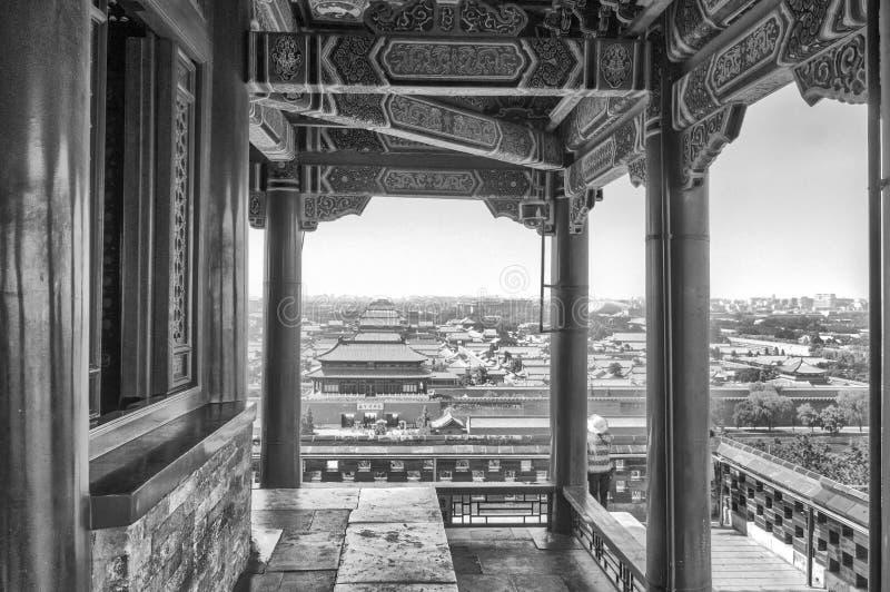 jingshan парк стоковая фотография rf
