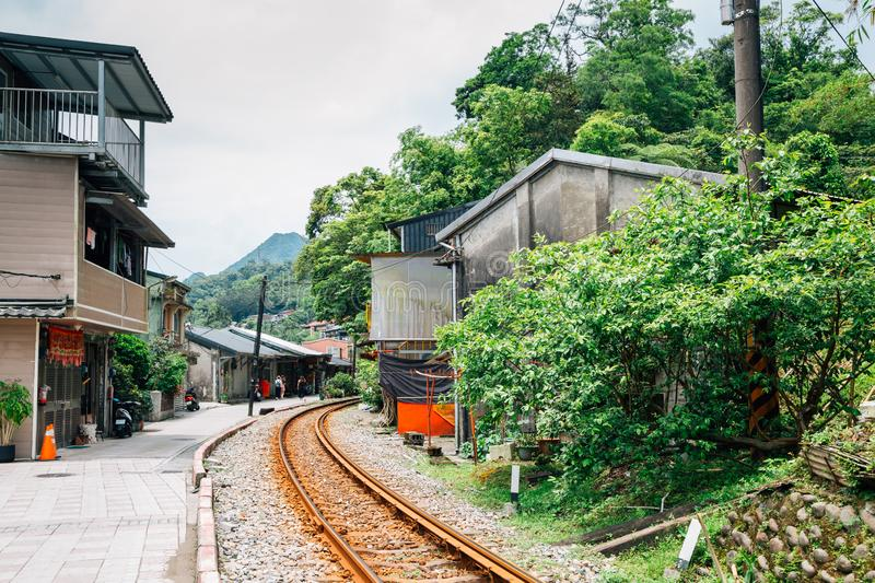 Jingtong old town of Pingxi line in New Taipei City, Taiwan. Asia stock photography