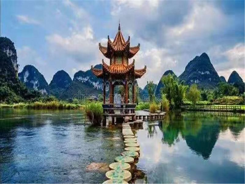 Jingxi City is affiliated to the Guangxi Zhuang Autonomous Region, a county-level city under the management of Baise City. royalty free stock photo