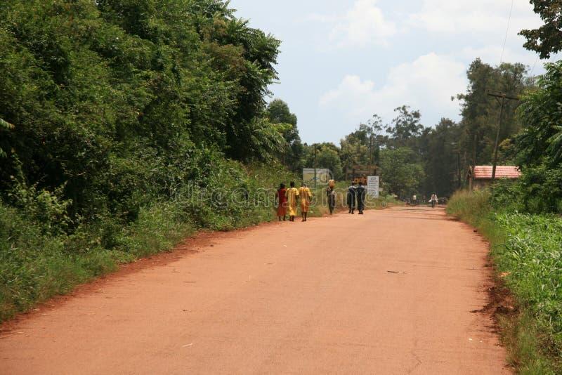 Jinja Uganda -, Afryka obraz royalty free