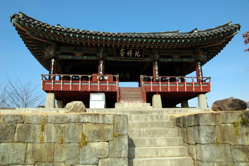 Jinju Festung stockfotos