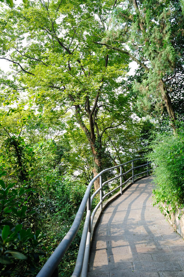 Jinlingshoek van de tuin royalty-vrije stock foto