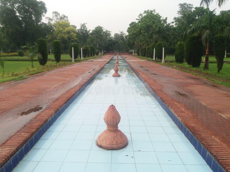 Jinnah Lahore pakistan di Bagh e fotografie stock libere da diritti