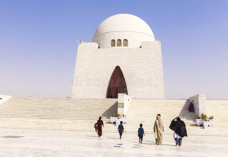Jinnah Mausoleum dans la Karachi, Pakistan photos stock