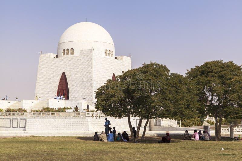 Jinnah Mausoleum dans la Karachi, Pakistan photo libre de droits