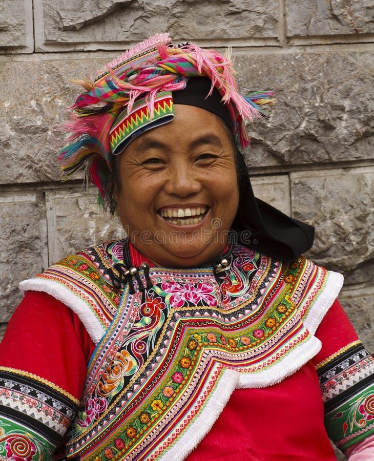 种族伊的妇女 免版税库存照片