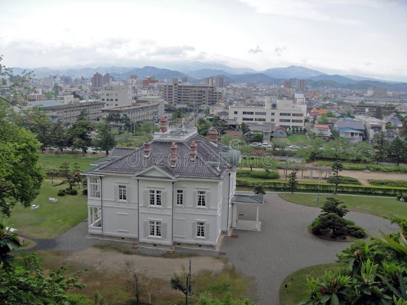 Jinpukaku i Tottori fotografering för bildbyråer
