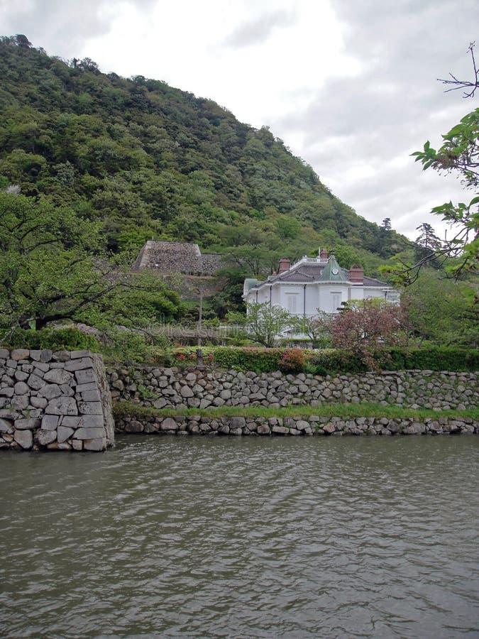 Jinpukaku i Tottori royaltyfri bild