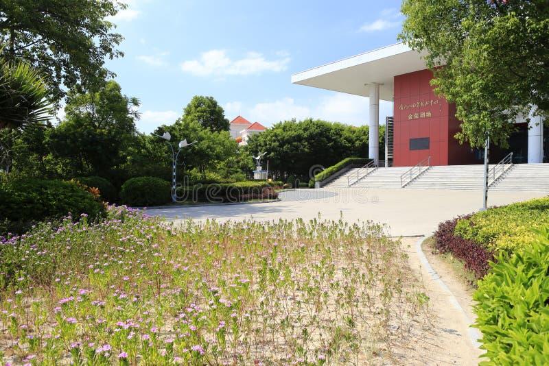 Jinrong theatre małego egret sztuki ansambl obrazy stock