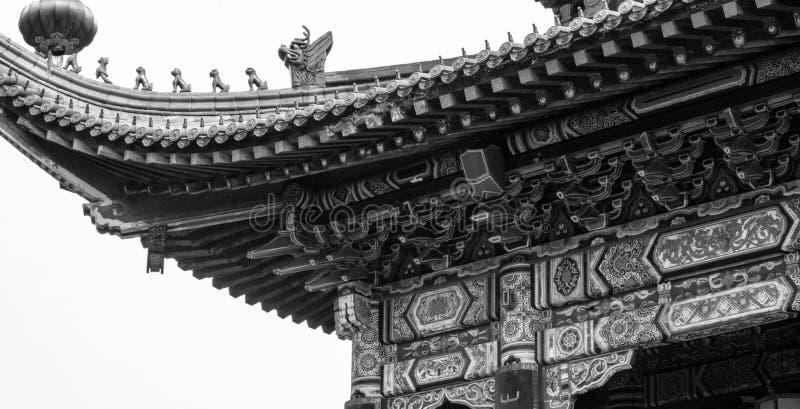 Jinshan висок стоковое изображение rf
