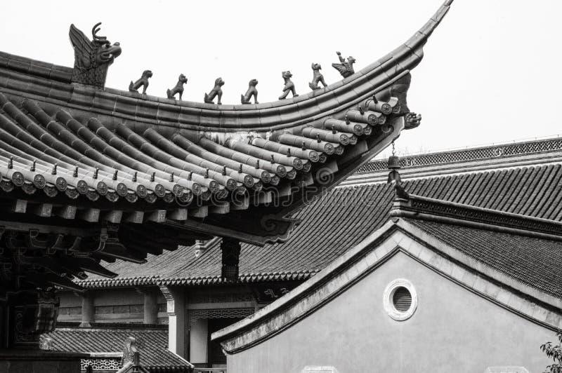 Jinshan висок стоковая фотография rf