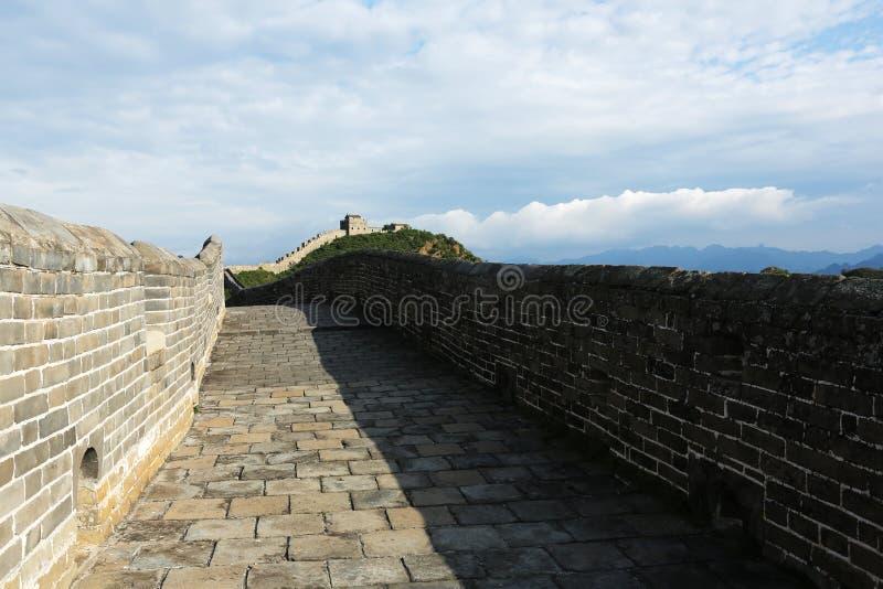 Jinshanling wielki mur  zdjęcie stock