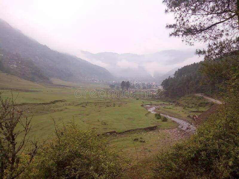 Jiri, Νεπάλ στοκ φωτογραφία