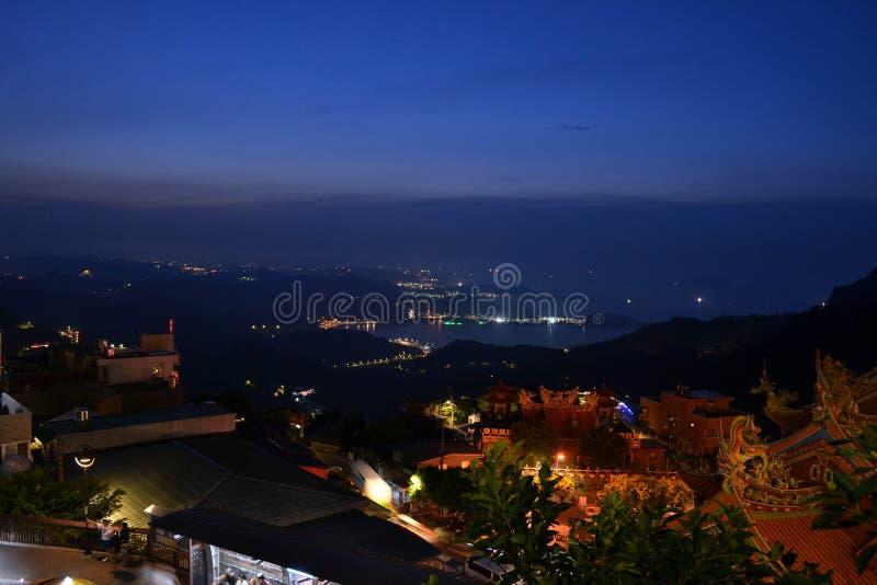 Jiu-Fenn in Taiwan an nah lizenzfreie stockbilder