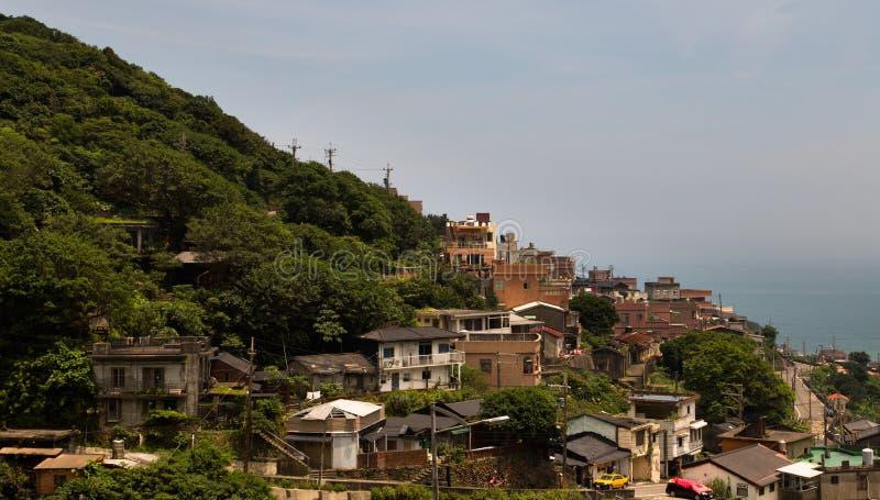 Jiufen,新北市山坡乡  免版税图库摄影