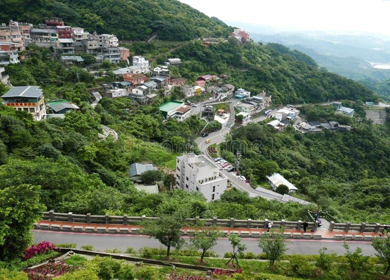 Jiufen à Taïwan images stock