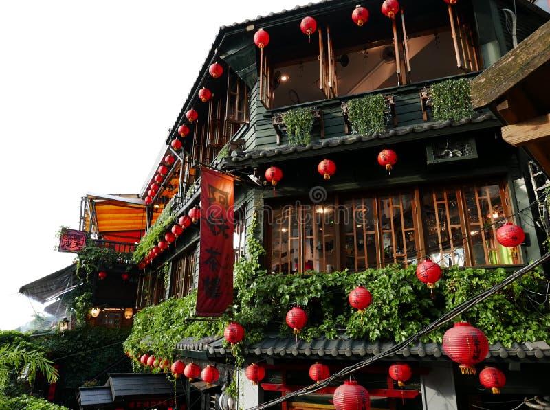 Jiufen in Taiwan fotografia stock