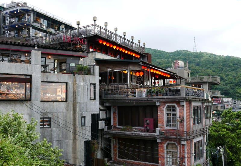 Jiufen in Taiwan fotografie stock