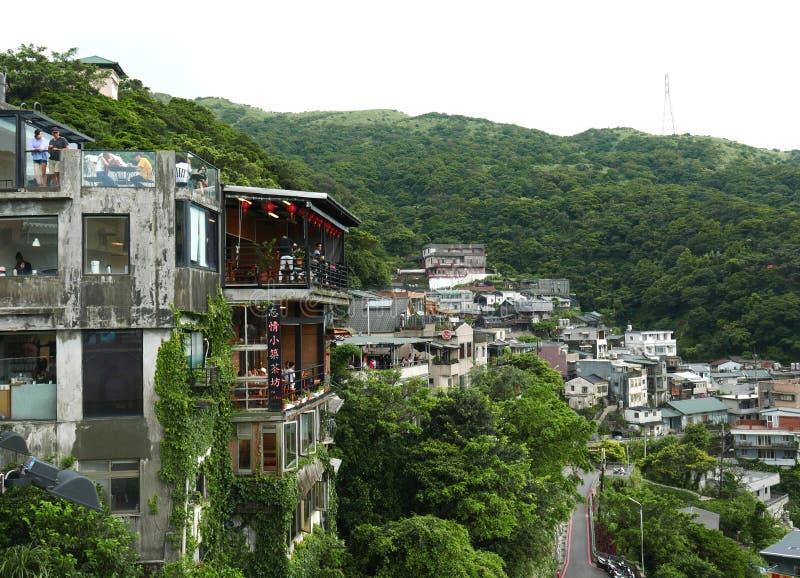 Jiufen in Taiwan immagini stock