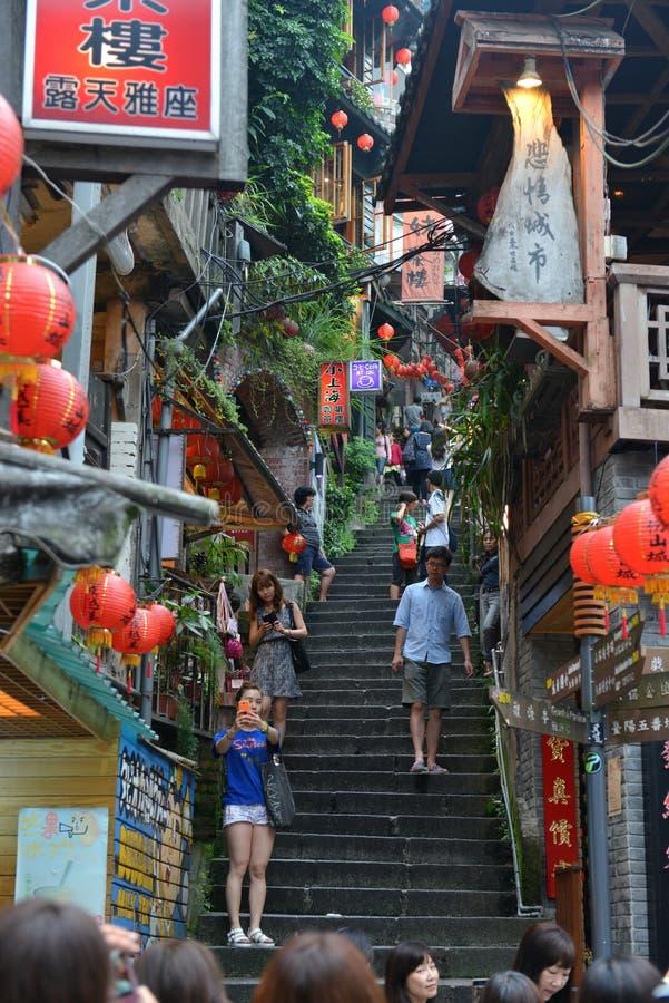 Jiufen, Taiwan imagens de stock royalty free