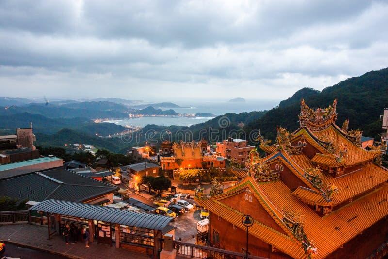 Jiufen, Taiwan fotografie stock