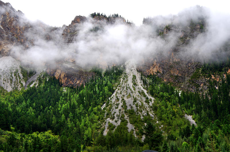 Download Jiuzhai Valley stock image. Image of forest, china, paradise - 34464483