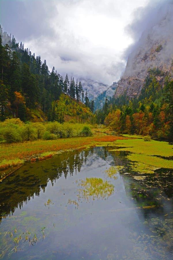 Jiuzhaigou fotografia stock libera da diritti
