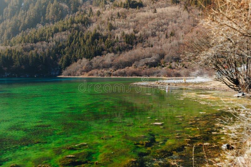 Jiuzhaigou Dolinny park narodowy Chiny zdjęcia stock