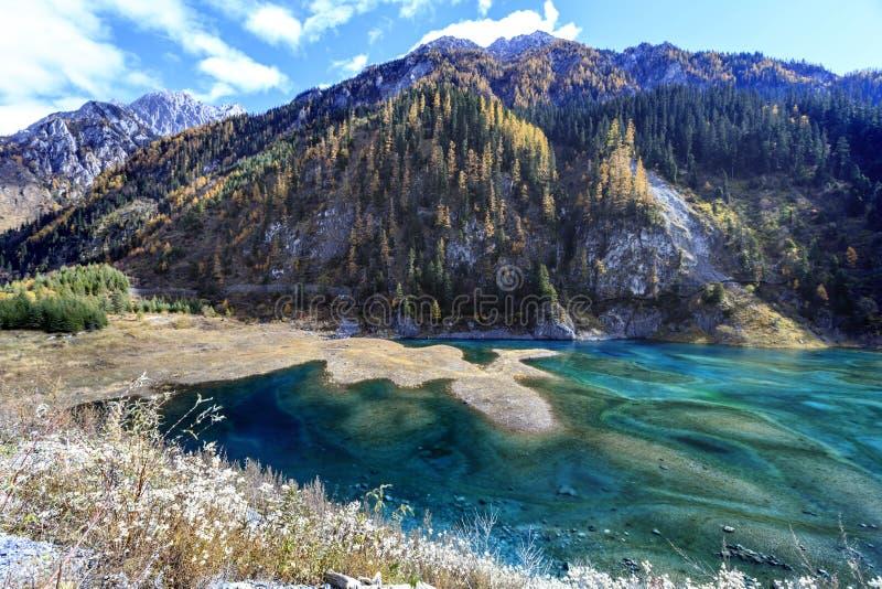 Jiuzhaigou doliny park narodowy zdjęcia stock