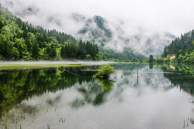 Jiuzhaigou Valley стоковая фотография