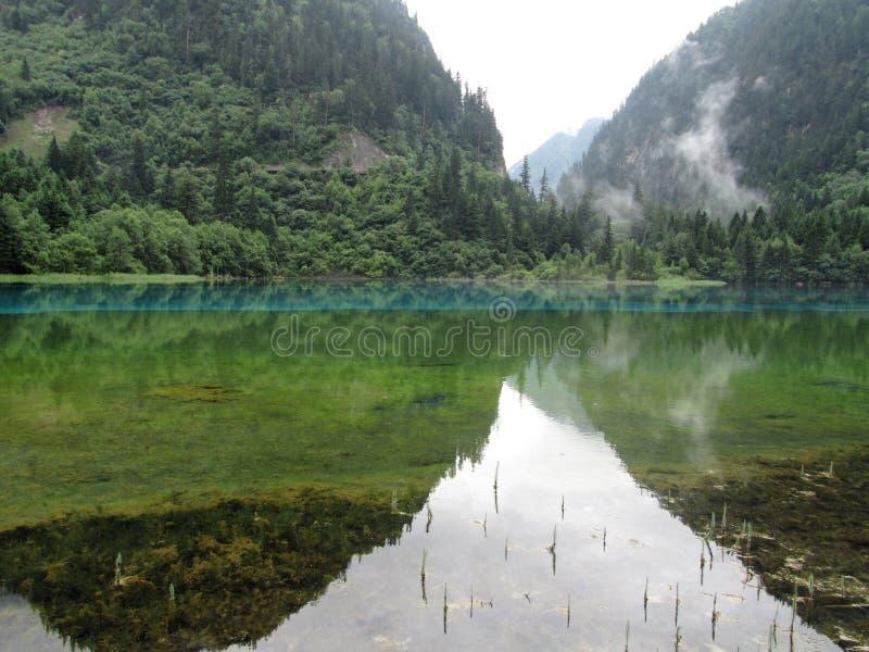 Jiuzhaigou-wereld Natuurlijk erfgoed royalty-vrije stock foto