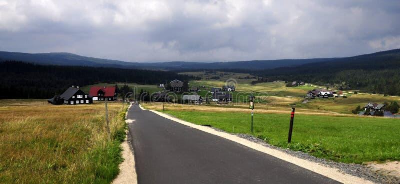 Download Jizerka settlement stock image. Image of landscape, mountains - 20955175