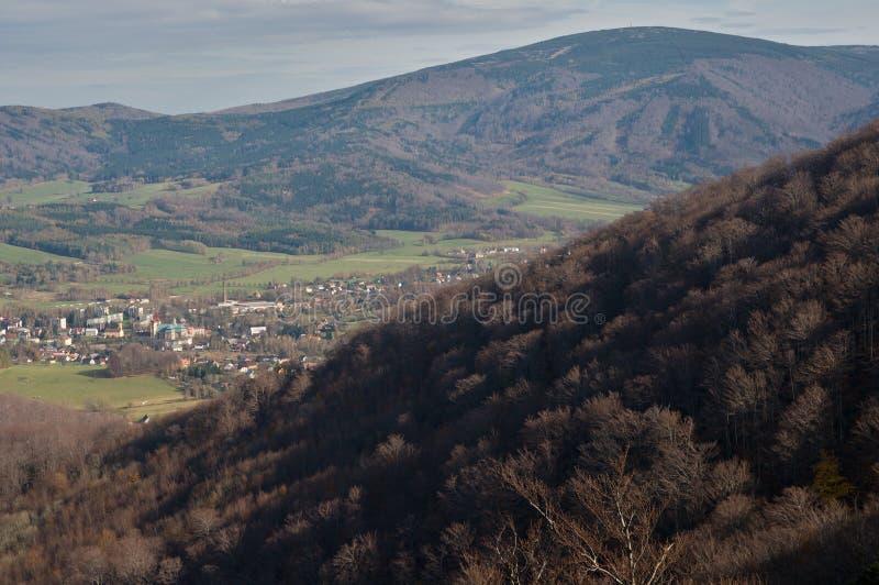Jizerske hory, République Tchèque image libre de droits