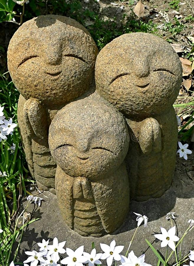 Jizo photographie stock