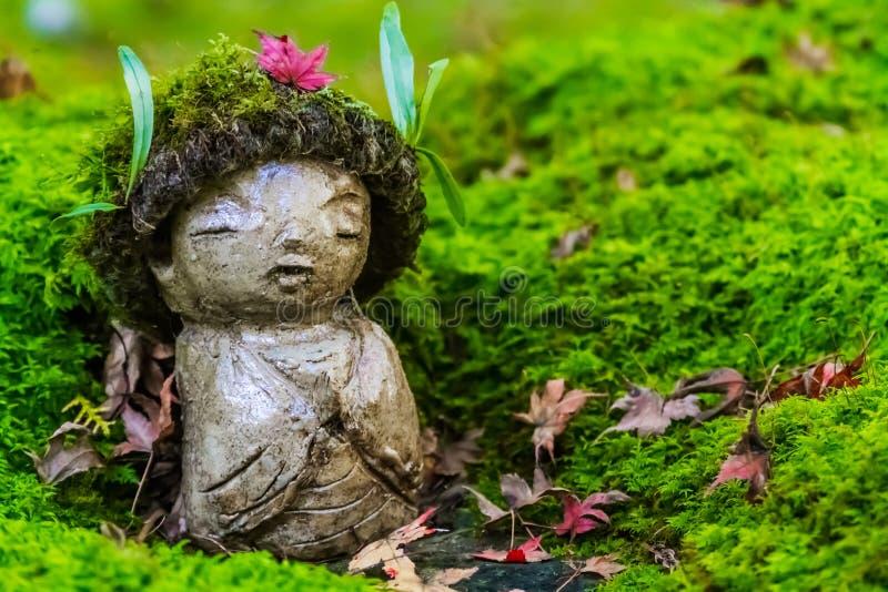 Jizo Bodhisattva arkivfoton