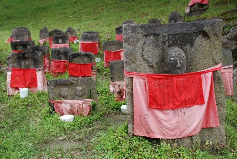 Jizo At Nara Royalty Free Stock Image