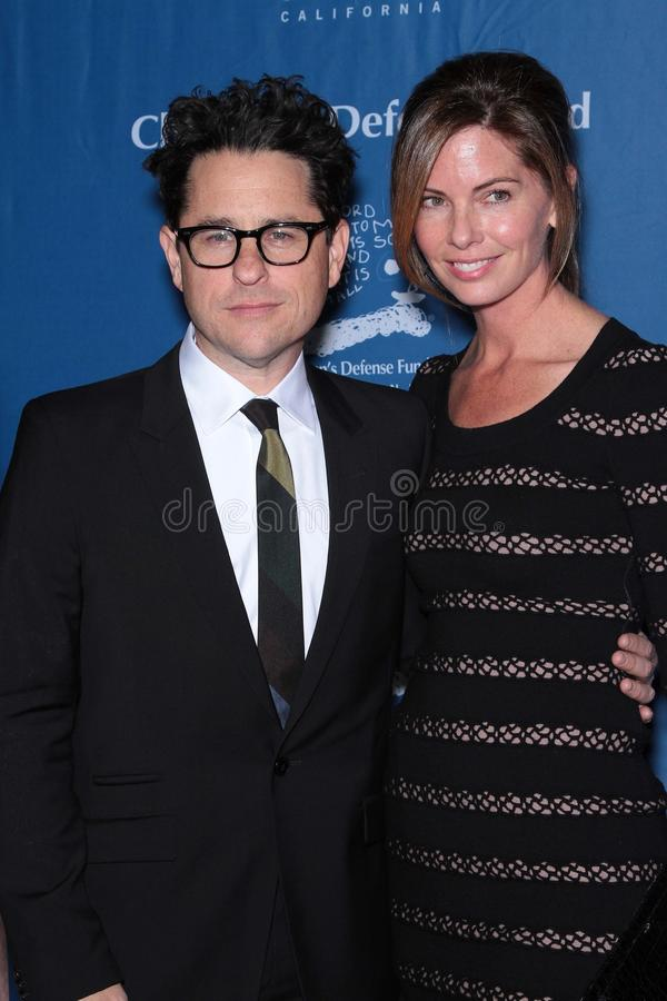 JJ Abrams. J.J. Abrams and Katie McGrath at The Children's Defense Fund's 21st Annual Beat The Odds Awards, Beverly Hills Hotel, Beverly Hills, CA 12-01-11 stock photography