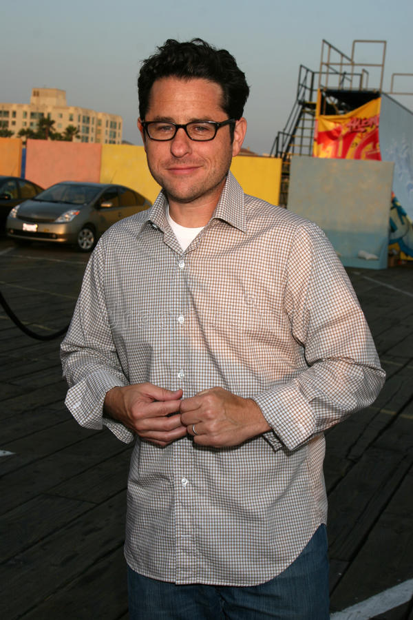 JJ Abrams. Arriving at the Fox TV TCA Summer 08 Party at the Santa Monica Pier in Santa Monica, CA on July 14, 2008 royalty free stock images