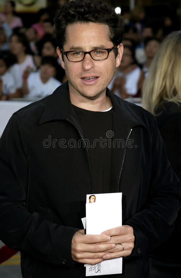 JJ Abrams. Attends the Los Angeles Premiere of Mr. & Mrs. Smith held at the Mann's Village Theater in Westwood, California on June 7, 2005 stock images