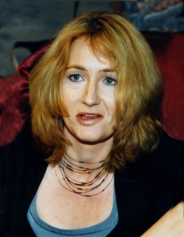 JK Rowling Editorial Stock Image