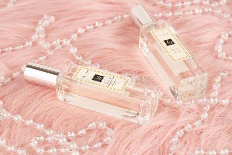 Jo Malone perfume stock photography