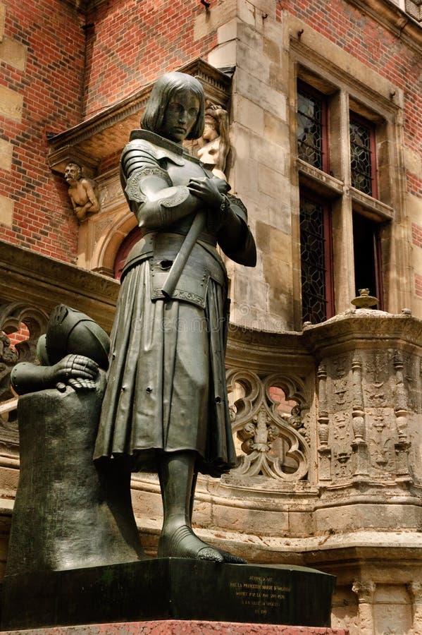 Joan of Arc royalty free stock photo
