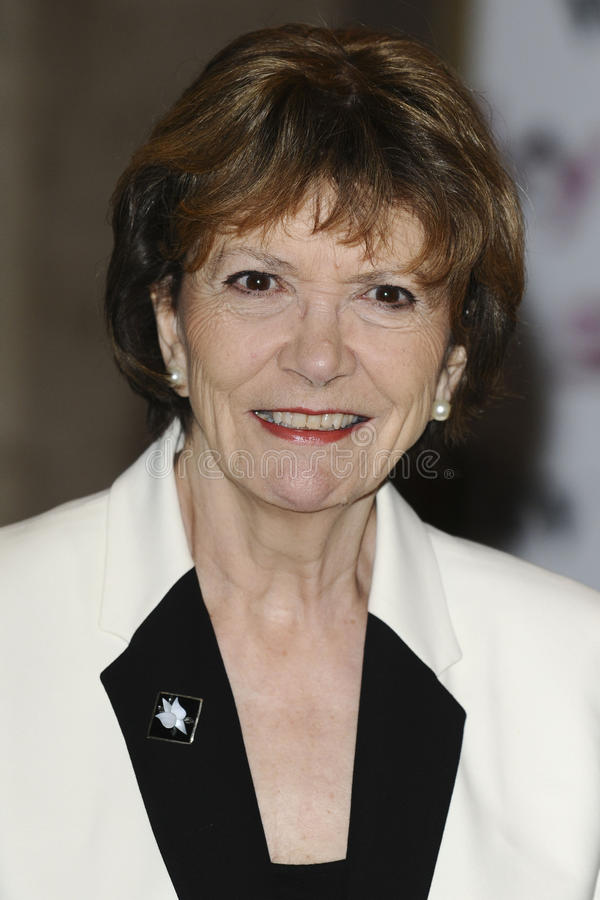 Joan Bakewell foto de stock