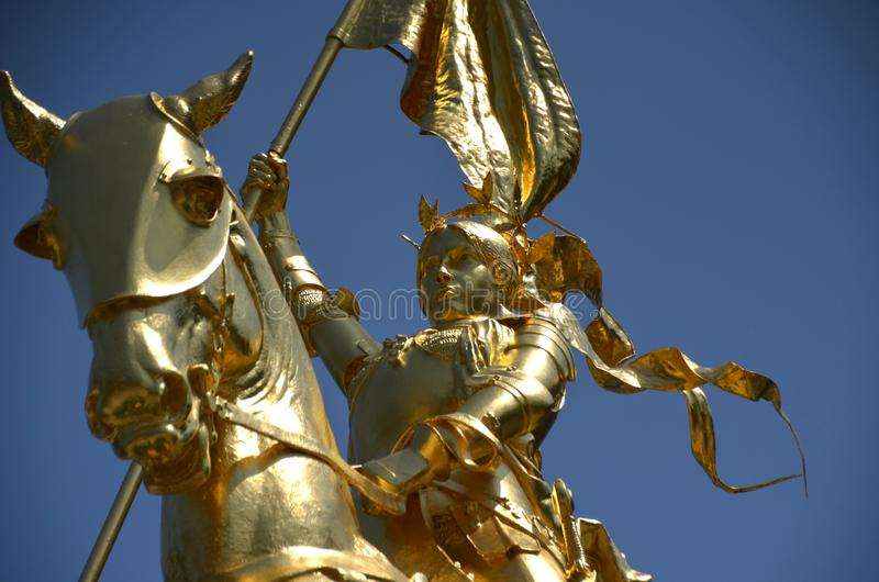 Joan d'arc image stock