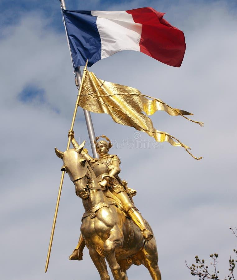 Joan d'arc - la Nouvelle-Orléans - les Etats-Unis photo libre de droits