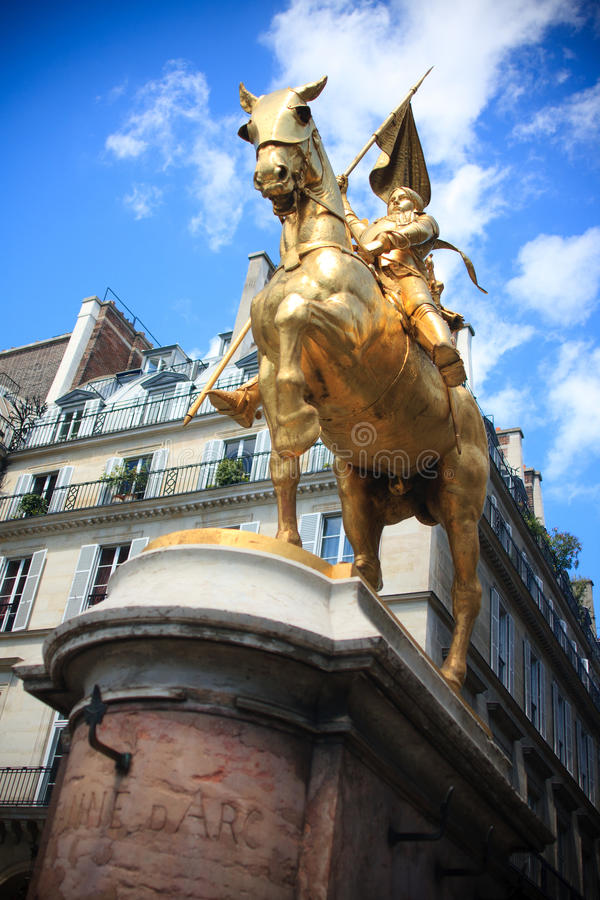 Joan Do Arco Foto de Stock Royalty Free