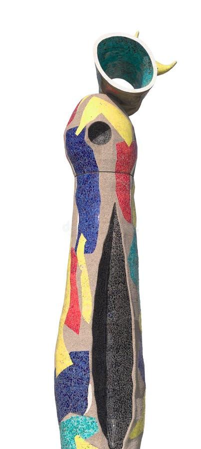 Joan Miro Dona I Ocell royaltyfri bild