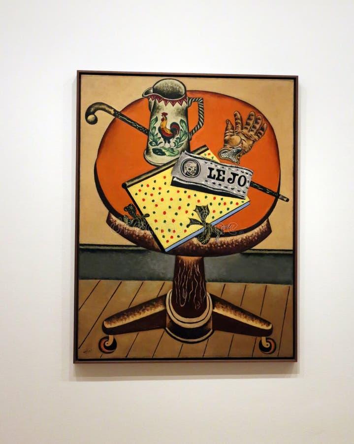 Joan Miro At The MOMA immagini stock