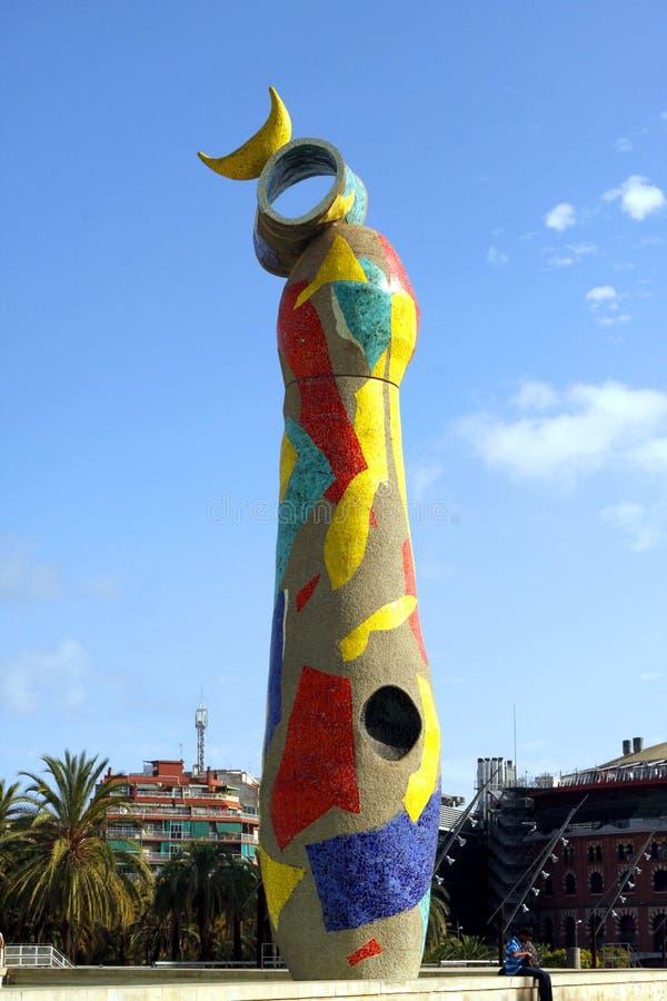 Joan Miro Park - Barcelona fotos de archivo libres de regalías